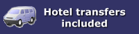 Hotel transfers included